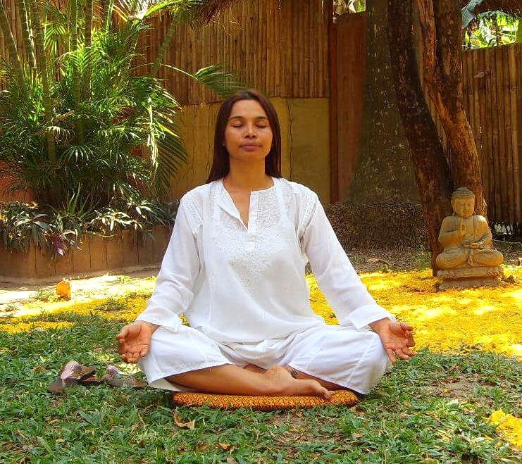 image of yoga teacher