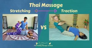 Thai Massage stretching and traction