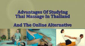 Study Thai Massage in Thailand