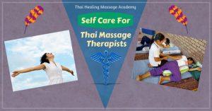 Thai Massage self care