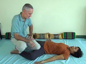 Thai Massage knee technique