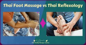 thai foot massage vs thai reflexology