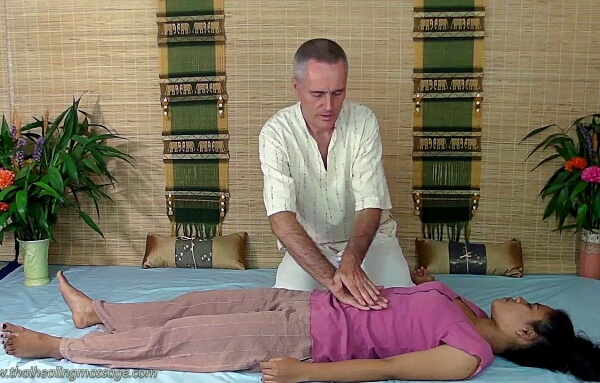 abdominal massage  technique