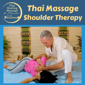 Thai Massage shoulder therapy