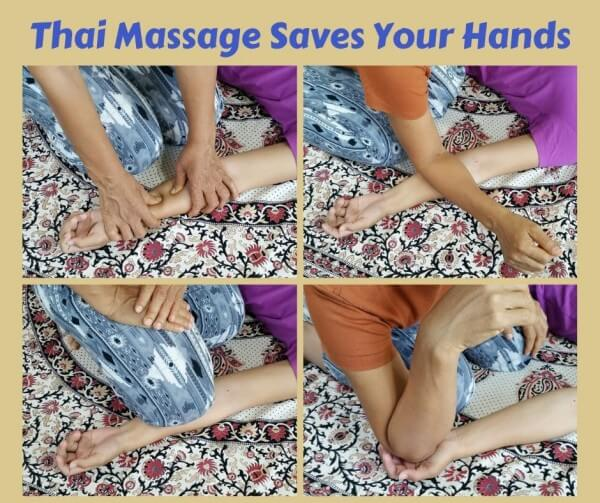 Thai Massage Saves Your Hands