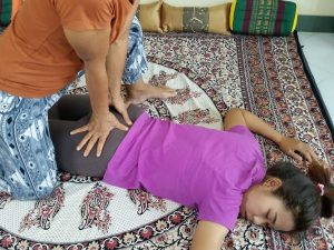 Thai Massage hand work