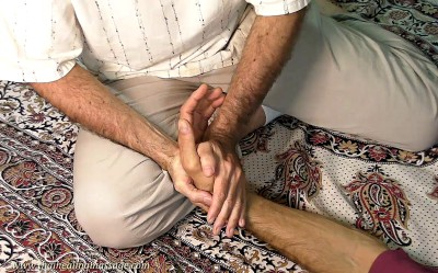 Thai Massage hand therapy