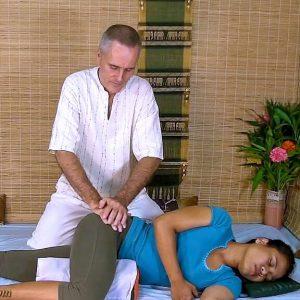 thai massage hip work