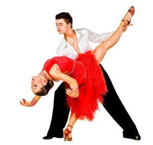 perfectly synchronized dance