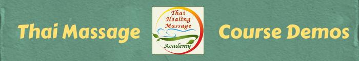 Thai Massage course demonstration