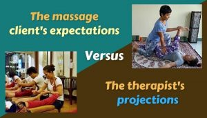 massage client's expectations