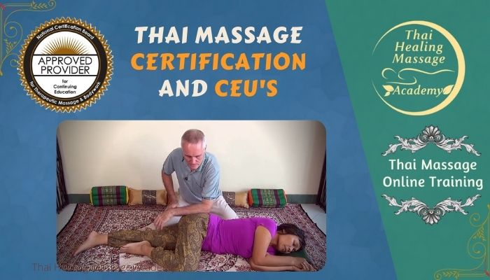Learn Thai Massage and earn CEUs